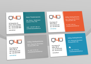advisory services business cards